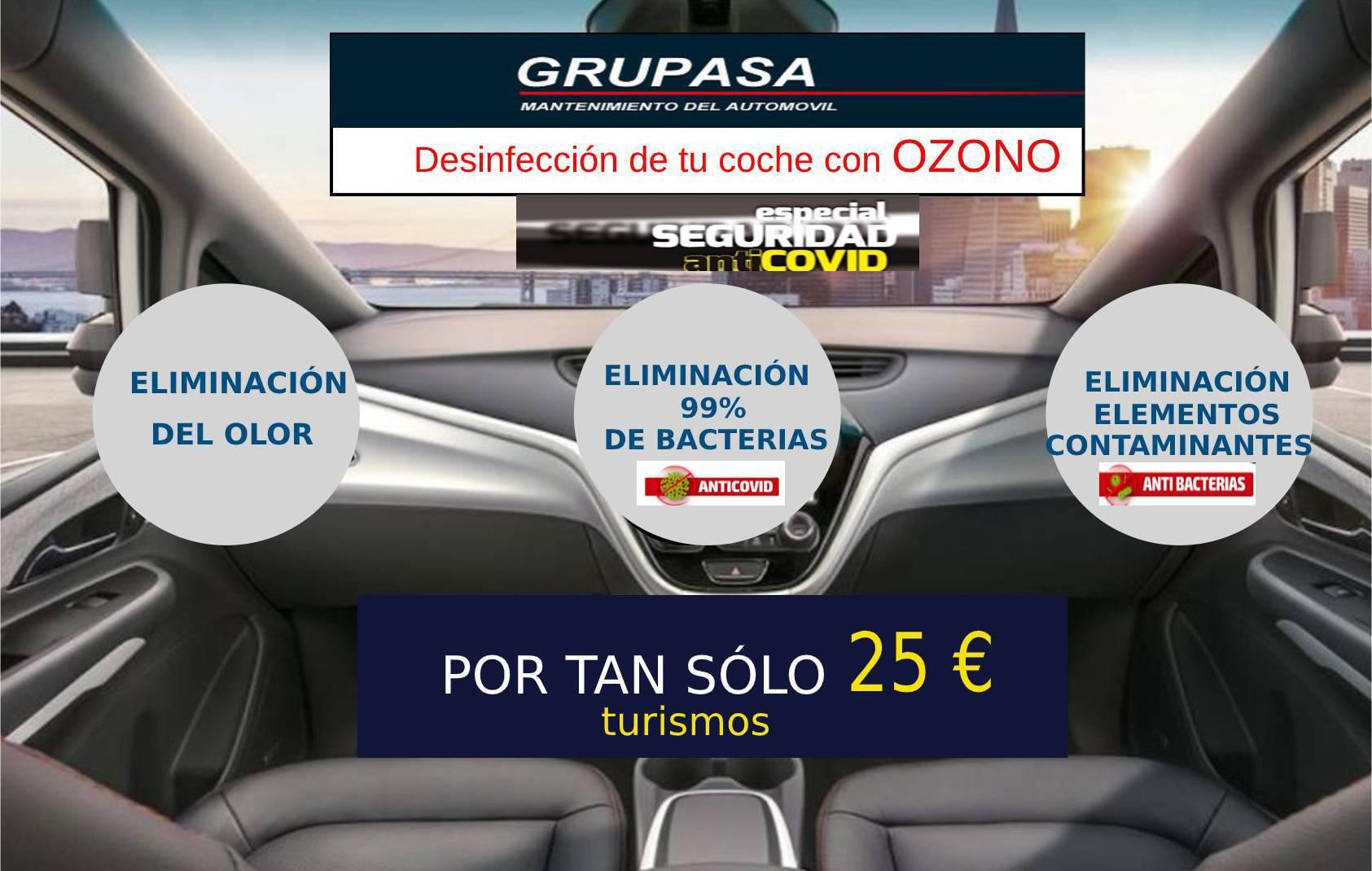 ozono 25 covid